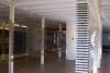 Videotape winded between steal pilars
