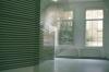 4m(h)x 20m(w) x 2.8m(w), videotape winded from window to window.