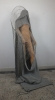 plastic,paperclips and wool  190cm (h)